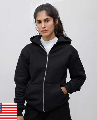 969 HF10LO Los Angeles Apparel HF10/Heavy weight Fleece Zip up Hood