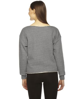 American Apparel HVT316W Ladies' Athletic Crop Sweatshirt Zinc