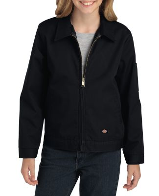 Dickies Workwear KJ903 Youth  Eisenhower Jacket RINSED BLACK