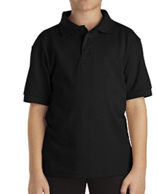 Dickies Workwear KS4552 Boy's Short-Sleeve Performance Polo BLACK
