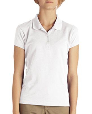 Dickies KS952 Girls' Short-Sleeve Performance Polo WHITE