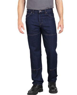 Dickies Workwear LD200 Men's Industrial Workhorse Denim Pant RNSD IND BLUE _28