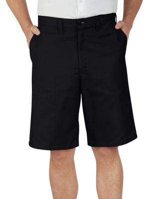 Dickies Workwear LR303 Men's 11 Industrial Flat Front Short BLACK _28