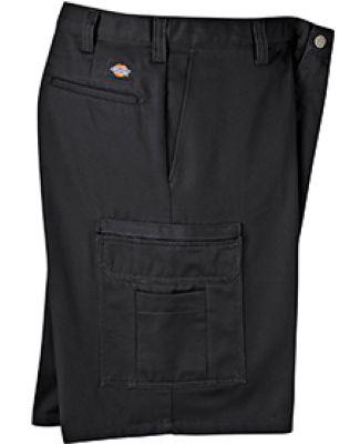 Dickies Workwear LR337 8.5 oz., 11 Industrial Cotton Cargo Short BLACK _28