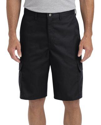 Dickies Workwear LR600 Men's 11 Regular Fit Industrial Cargo Short BLACK _28