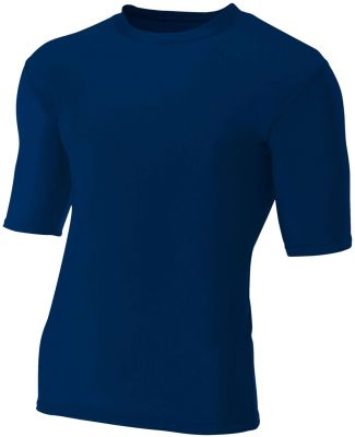 N3283 A4 Adult Compression Tee NAVY