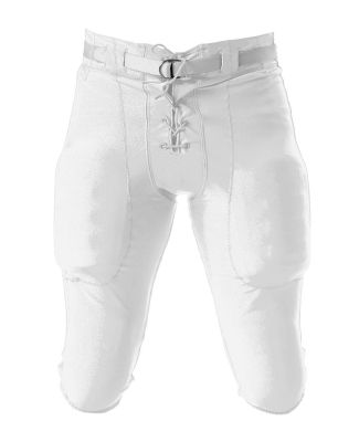 NB6141 A4 Youth Game Pant WHITE