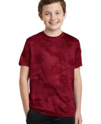 YST370 Sport-Tek® Youth CamoHex Tee Catalog