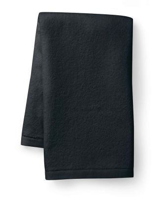 T680 Towels Plus by Anvil Deluxe Golf Towel Black