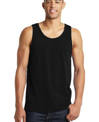 DT5300 District® Young Mens The Concert Tank Black