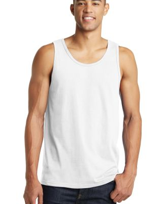 DT5300 District® Young Mens The Concert Tank White