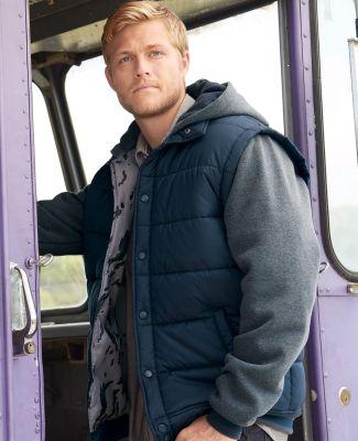 Burnside B8701 Nylon Vest with Fleece Sleeves Catalog
