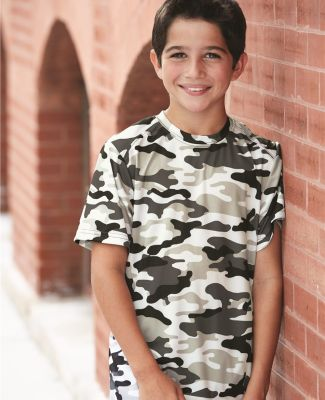 2181 Badger - Youth Camo Short Sleeve T-Shirt Catalog