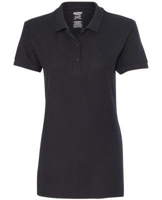 Gildan 82800L Premium Cotton Ladies' Double Piqué BLACK