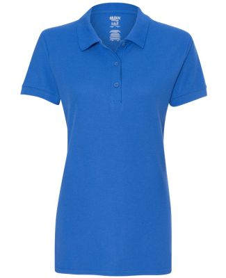 Gildan 82800L Premium Cotton Ladies' Double Piqué ROYAL