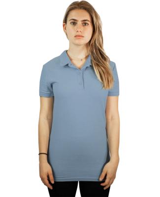 Gildan 82800L Premium Cotton Ladies' Double Piqué Polo Catalog