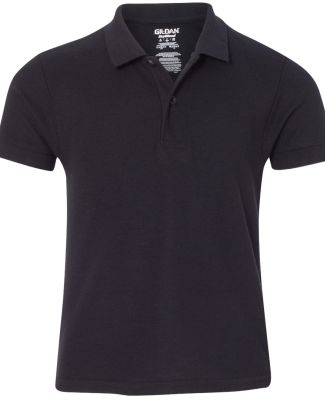 72800B Gildan DryBlend® Youth Double Piqué Polo BLACK