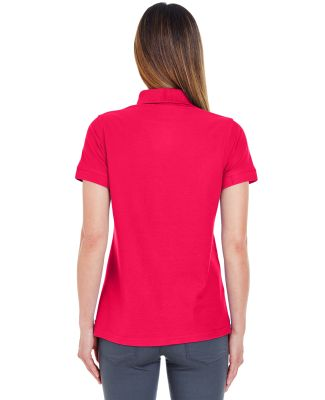 8560L UltraClub Ladies' Basic Blended Piqué Polo Red