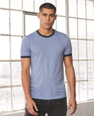 BELLA+CANVAS 3055 Heather Ringer Tee Catalog