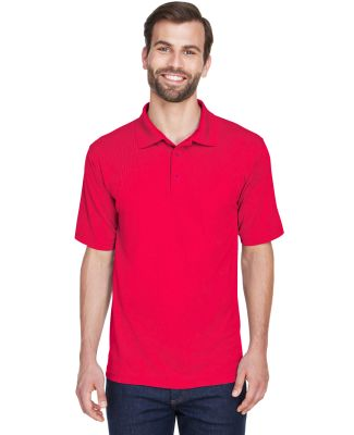 8210 UltraClub® Men's Cool & Dry Mesh Piqué Polo RED