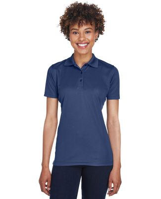 8210L UltraClub® Ladies' Cool & Dry Mesh Piqué P NAVY