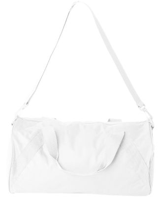 8805 Liberty Bags Barrel Duffel WHITE