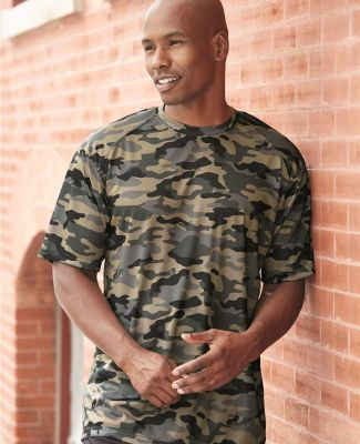 4181 Badger  Camo Short Sleeve T-Shirt Catalog