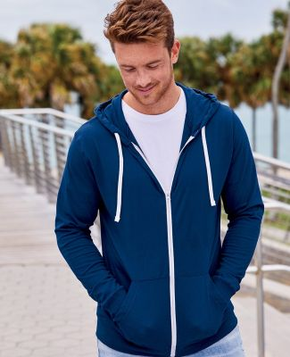 SF60 Fruit of the Loom Adult Sofspun™ Jersey Full-Zip Hooded Tee Catalog