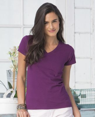 SFJV Fruit of the Loom Ladies' Sofspun™ Junior Fit V-Neck T-Shirt Catalog