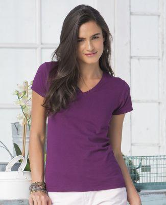 SFJV Fruit of the Loom Ladies' Sofspun™ Junior Fit V-Neck T-Shirt Catalog