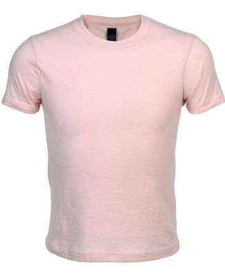 0235TC Tultex Youth Fine Jersey Tee Pink