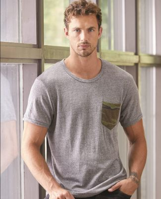 Alternative Apparel 1939 Eco-Jersey Pocket T-shirt Catalog
