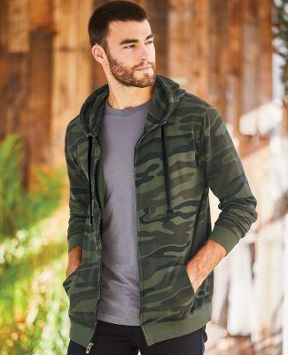 B8615 Burnside - Camo Full-Zip Hooded Sweatshirt Catalog