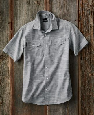 B9247 Burnside - Textured Solid Short Sleeve Shirt  Catalog