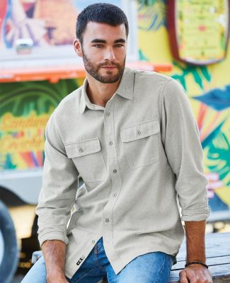 B8200 Burnside - Solid Long Sleeve Flannel Shirt  Catalog