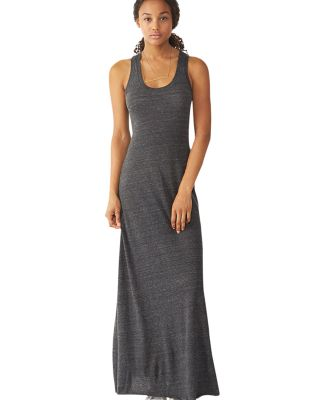 Alternative Apparel 1968 Ladies Eco-Jersey Maxi Dr ECO BLACK