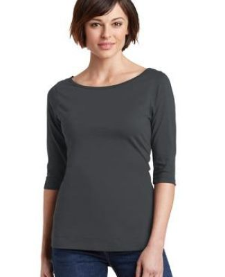 DM107L District Made® Ladies Perfect Weight® 3/4-Sleeve Tee Catalog