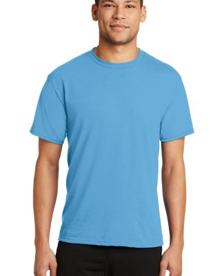 PC381 Performance Tee Blended Cotton Polyester by  Aquatic Blue