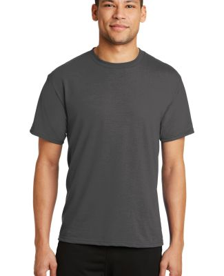 PC381 Performance Tee Blended Cotton Polyester by  Charcoal