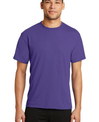 PC381 Performance Tee Blended Cotton Polyester by  Purple
