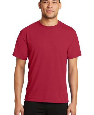 PC381 Performance Tee Blended Cotton Polyester by  Red