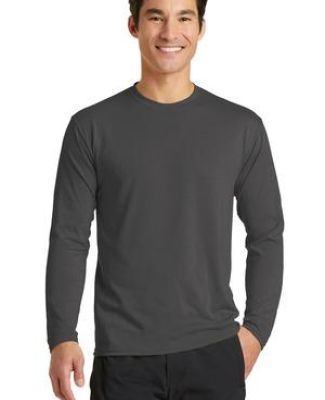 PC381LS Blended long sleeve performance tee shirt by port and company Catalog
