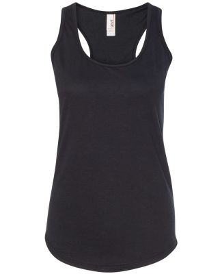 6751L Anvil Ladies' Triblend Racerback Tank Black
