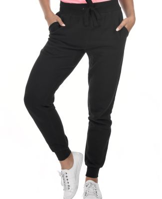 M7620 Cotton Heritage Fleece Rib Jogger Pant (disc Black