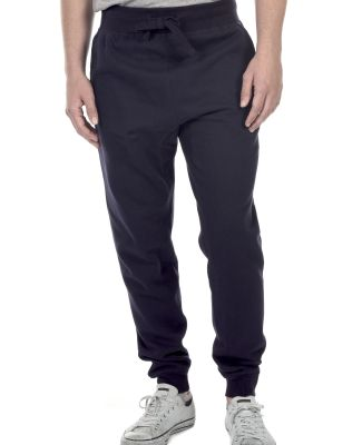 M7620 Cotton Heritage Fleece Rib Jogger Pant (disc Navy