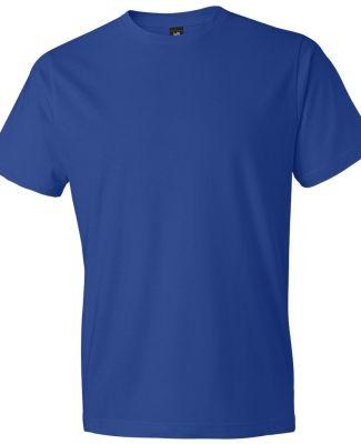 980 Anvil Combed Ring Spun Cotton T-Shirt Royal