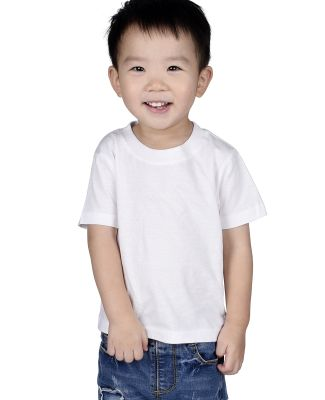 IC1040 Cotton Heritage 4.3oz Infant Crew Neck T-sh White