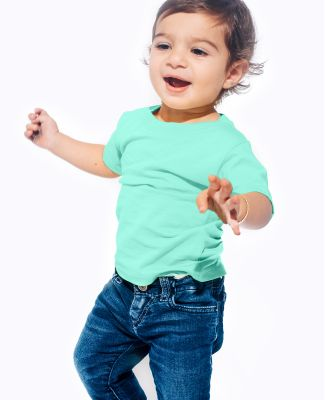 IC1040 Cotton Heritage 4.3oz Infant Crew Neck T-sh Mint