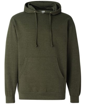 SS4500 Independent Trading Co. Midweight Hooded Sw Army Heather