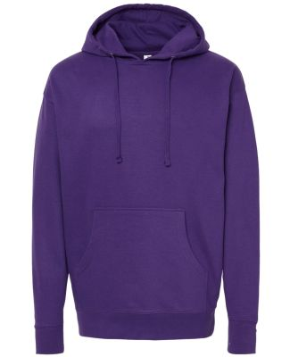 SS4500 Independent Trading Co. Midweight Hooded Sw Purple